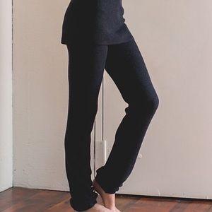 Lululemon Charcoal Gray Citta Sweater Knit Pants